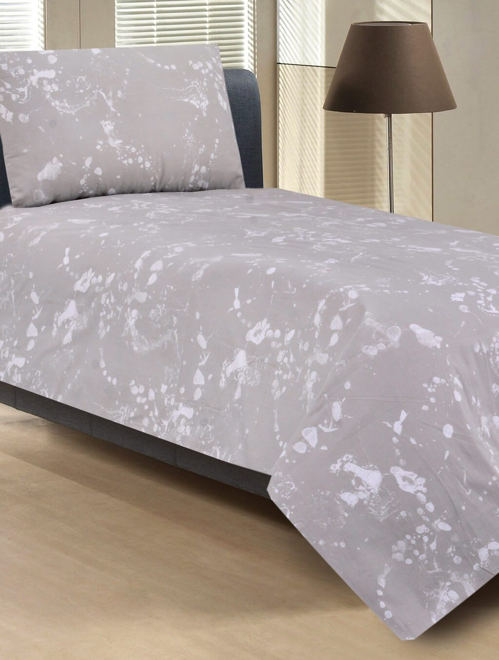 BED SHEET R2G 17083 Printed Range 144 TC HOMBEDROO
