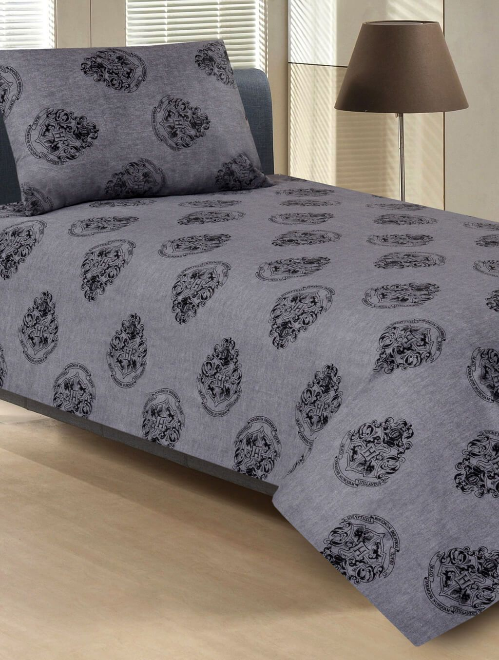 BED SHEET R2G 17119 SINGLE Printed Range 144 TC HOMBEDROO