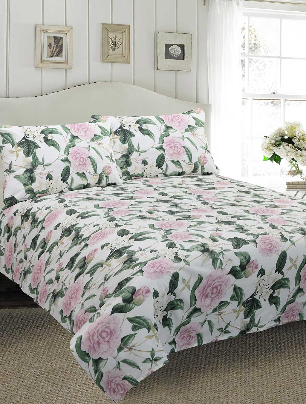 BED SHEET R2G 17472 Printed Range 144 TC HOMBEDROO
