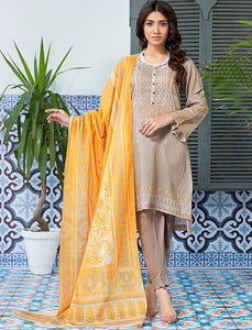 Bohemian KLA - 9081 3-Pcs Unstitched Khas Lawn 2020 - Volume 1 FASUNSLAD