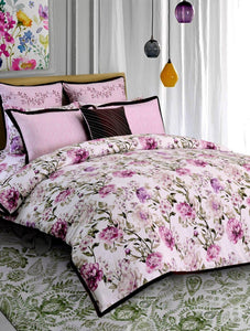Botanical Floral Printed Range 210 TC HOMBEDPIE Quilt Cover King