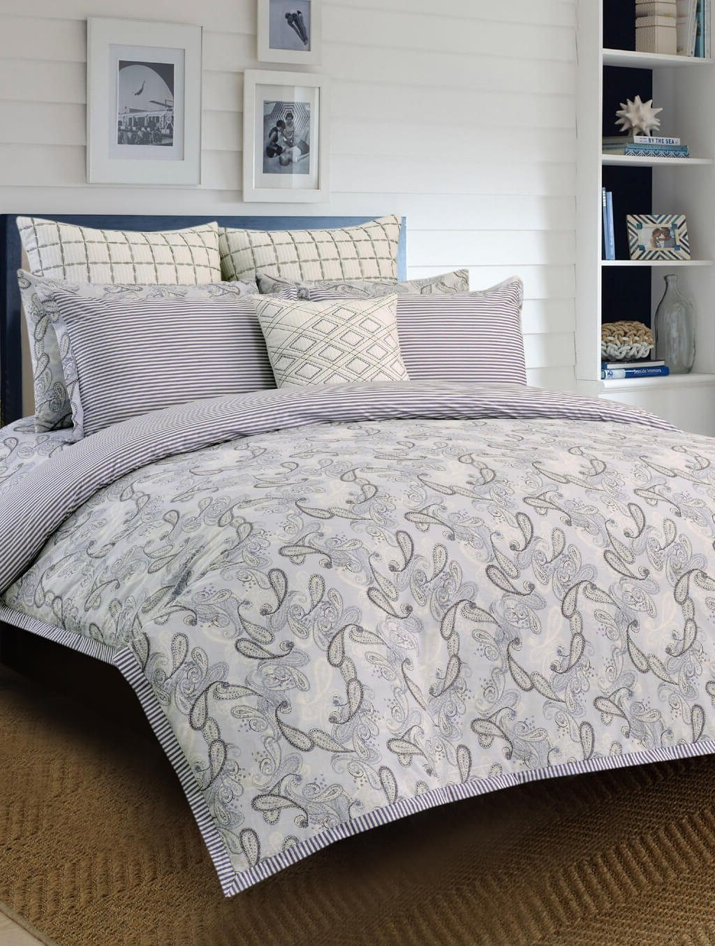 Cardinal Paisley PRINTED RANGE 180 TC HOMBEDCLU QUILT COVER KING