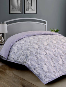 Cardinal Paisley Quilt Cover PRINTED RANGE 180 TC HOMBEDCLU Queen