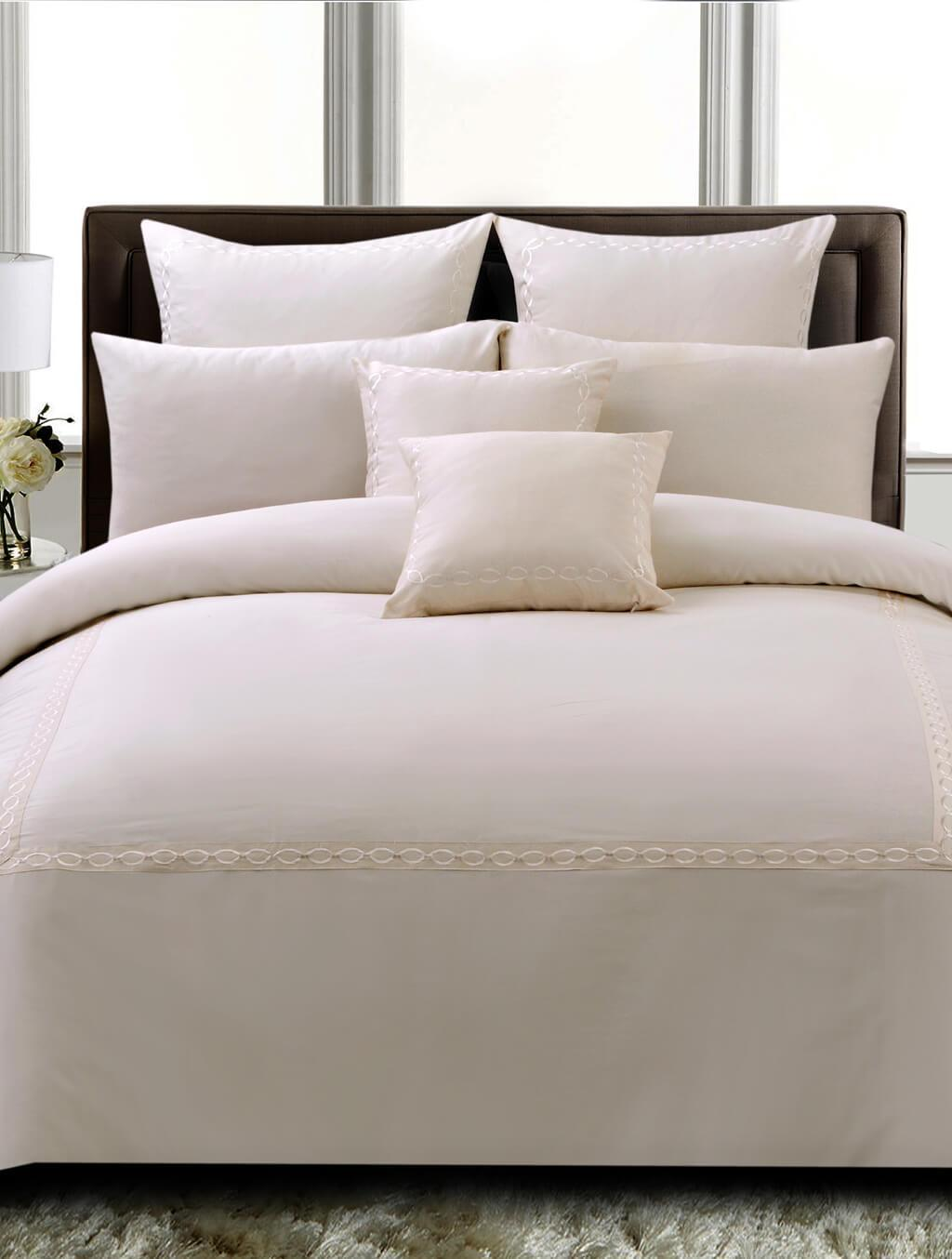 Cremor Hotel Bedding HOMBEDHOT BED SHEET-QUEEN
