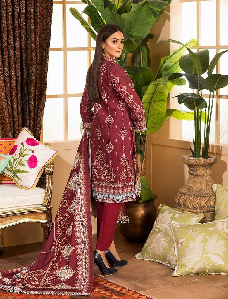 CRIMSON KKH-14027 Winter 3 Pcs unstitched FASUNSLAD