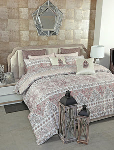DELICATE PAISLEY Home Collection 20 HOMBEDGOL BED SHEET QUEEN