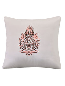 DELICATE PAISLEY Home Collection 20 HOMBEDGOL SQ. CUSHION COVER 18X18""
