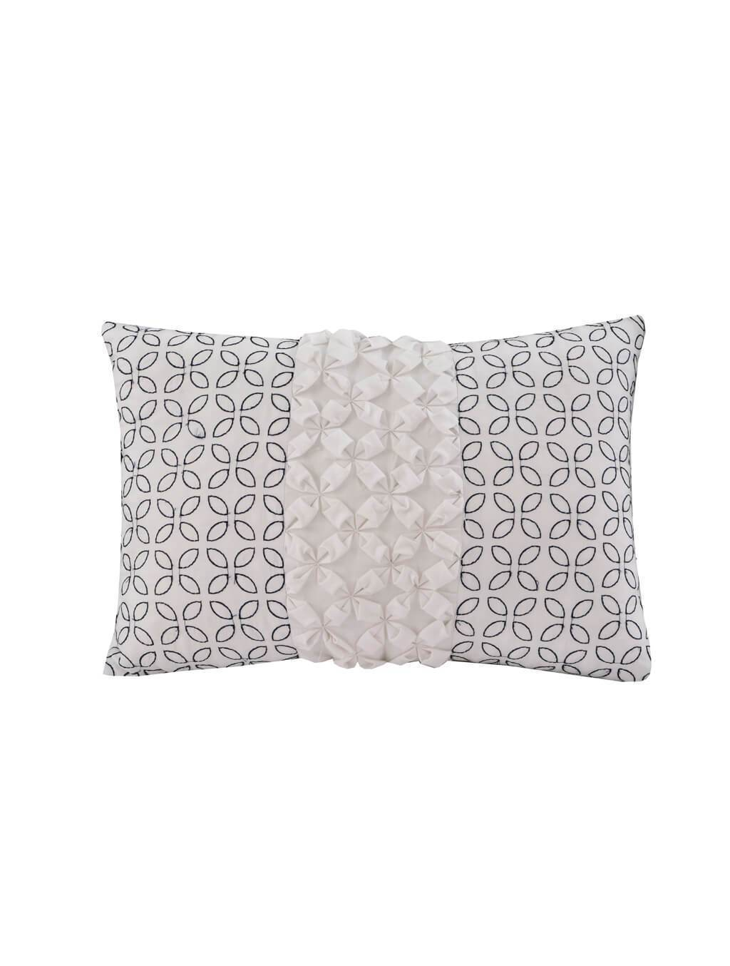 Fancy Damask-Dec Pillow Cover PRINTED RANGE 180 TC HOMBEDCLU