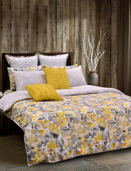 FLORA HUES Printed Range 210 TC HOMBEDPIE BED SET KING