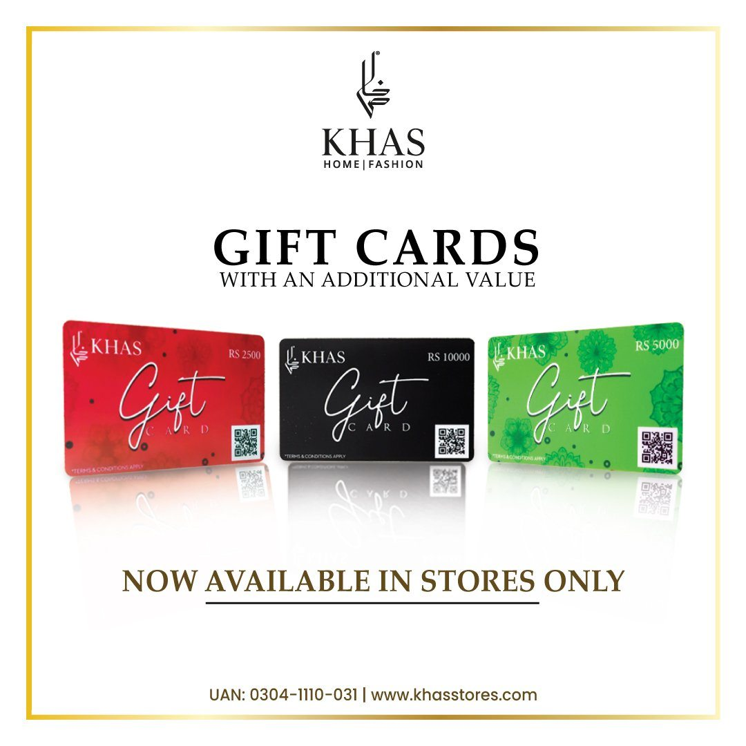 Gift Card Black Gift Cards KHAS STORES