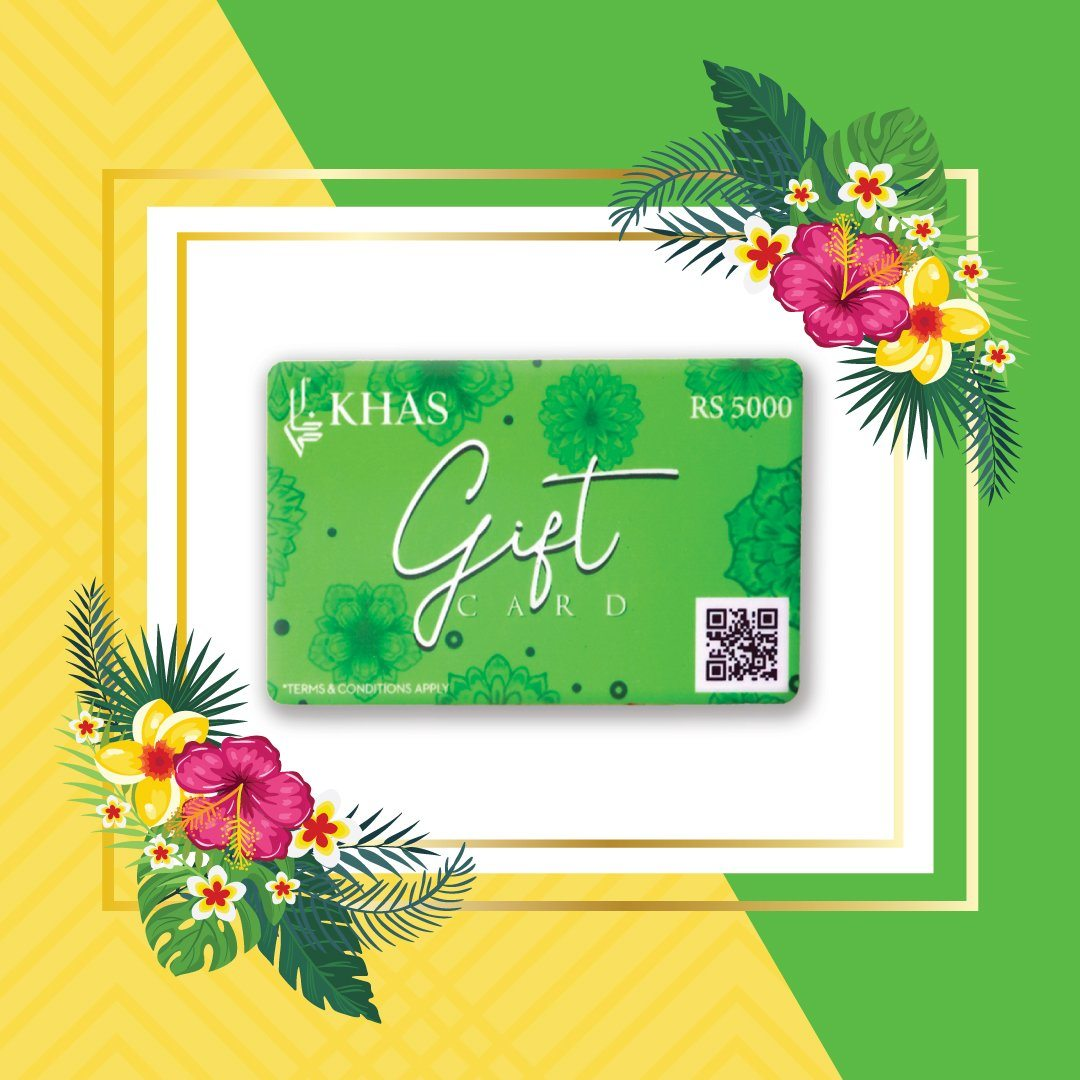Gift Card Green Gift Cards KHAS STORES