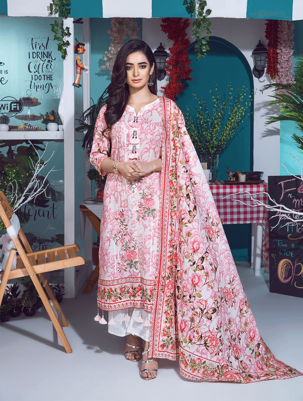 HARMONY KL-4068 Lawn 2019 Volume 2 FASUNSLAD