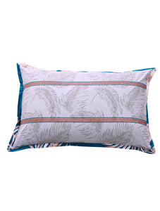 ISLAND LEAF Home Collection 20 HOMBEDCLU PILLOW COVER 19X29+9""