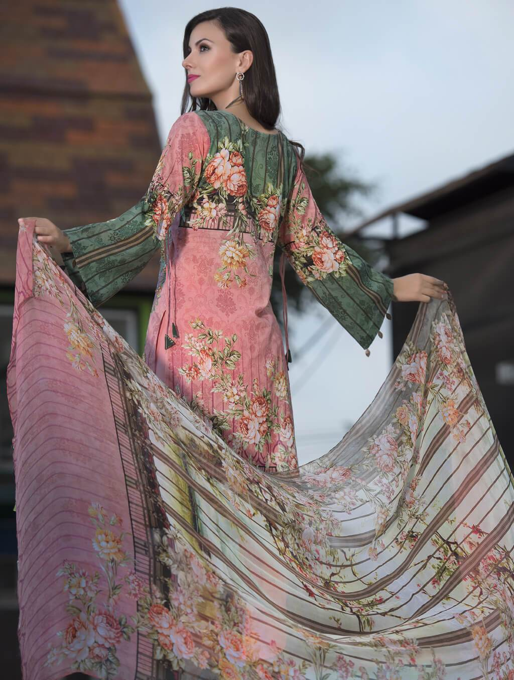 KC-5041 Stitched Khas Lawn 2019 - Volume 1 FASSTILAD