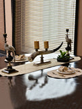 Kitchen Linen Jacquard Cream Kitchen Accessories HOMKITLIN 6 Pcs Napkin Set