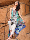 KL-003 1-Piece Unstitched Lawn FASUNSLAD