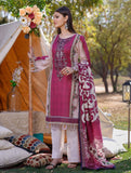 3 Piece Unstitched Printed Lawn Suit KL-1055