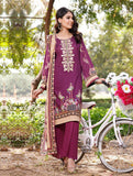 3 Piece Unstitched Printed Lawn Suit KL-1061