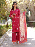 3 Piece Unstitched Printed Lawn Suit KL-1065