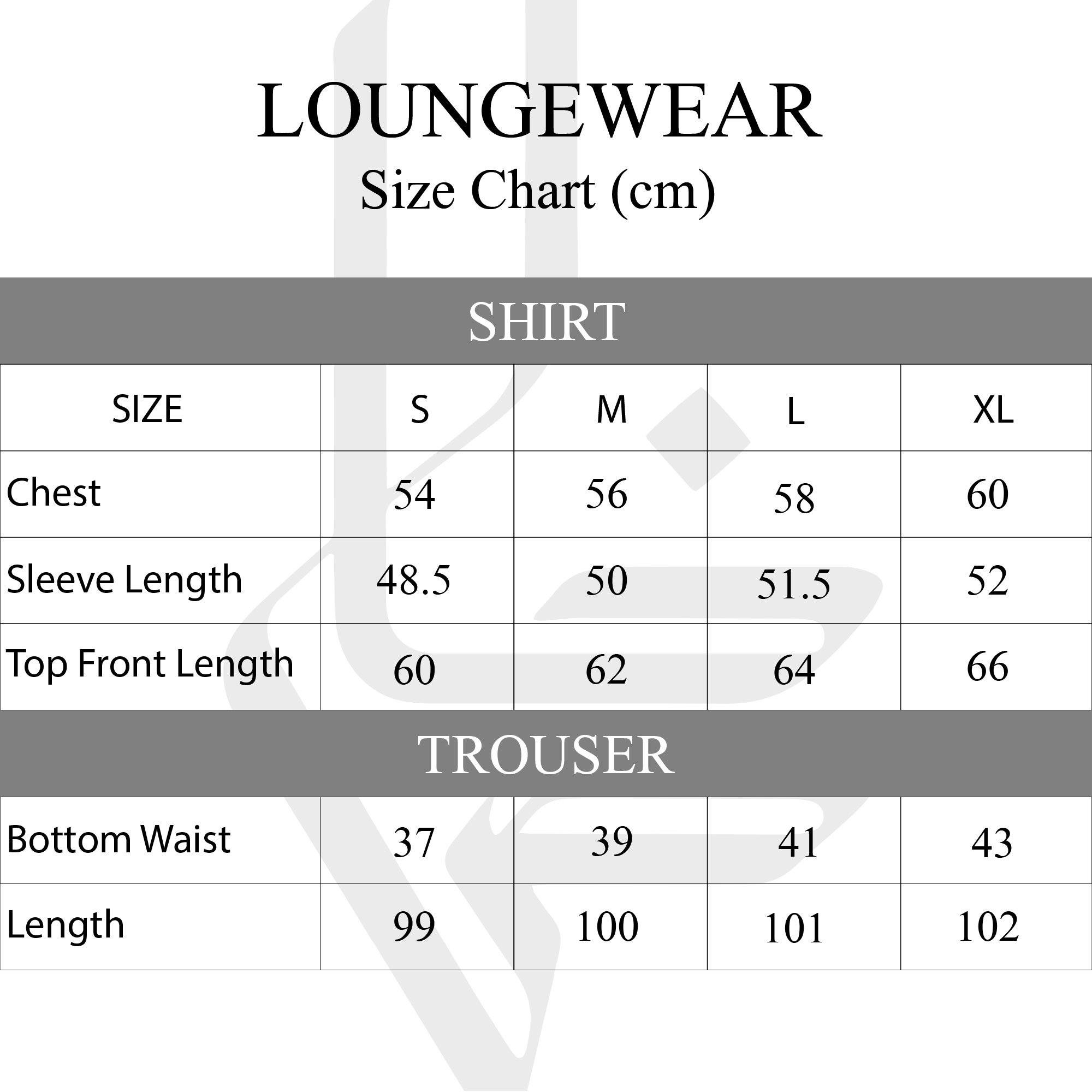 LADIES BURGUNDY LOUNGEWEAR LW-003 Kids FASSTIGIR
