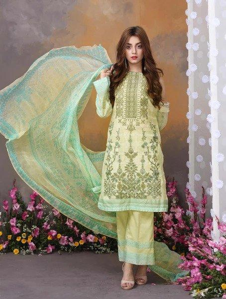 LIME GLAM KCE-6038 Lawn 2019 Volume 2 FASUNSLAD