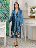 Luxury Embroidered Velvet Pret Kurti ER-141 Luxury Pret FASSTILAD M