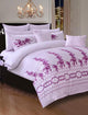 Mauve Quilt Cover Bridal Bedding HOMBEDBRI King