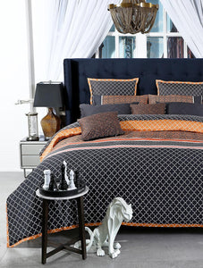 MOROCCAN DUSK Home Collection 20 HOMBEDGOL BED SHEET QUEEN