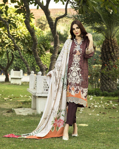 ORANGE ORIENTALIST KLE-15016 Winter 3 Pcs unstitched FASUNSLAD