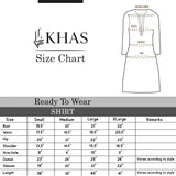 Organza Embroidered Shirt ER-23 Luxury Pret FASSTILAD
