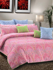 Paisley Punch Quilt Cover PRINTED RANGE 180 TC HOMBEDCLU King