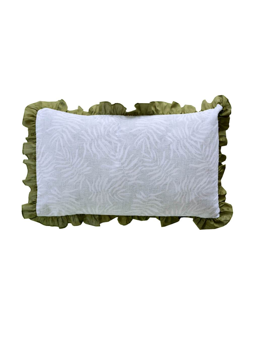 Palm Tropic Pillow Cover PRINTED RANGE 180 TC HOMBEDCLU
