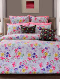 PASSION PRINTED PRINTED RANGE 180 TC HOMBEDCLU QUILT COVER KING