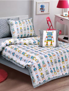 ROBOT Teens & Kids Bedding HOMBEDIMP Quilt Cover Single