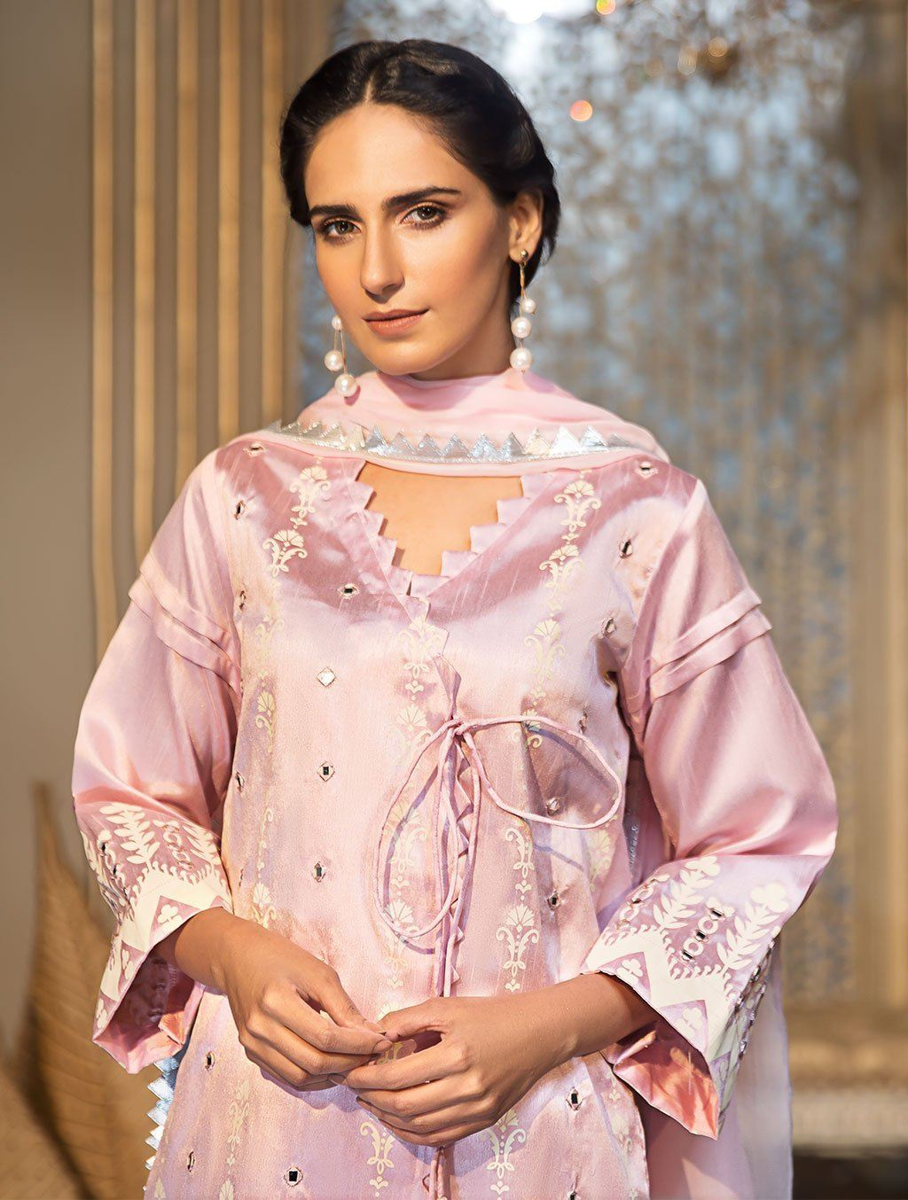 SHIRT & DUPATTA KLS-01 Luxury Pret FASSTILAD