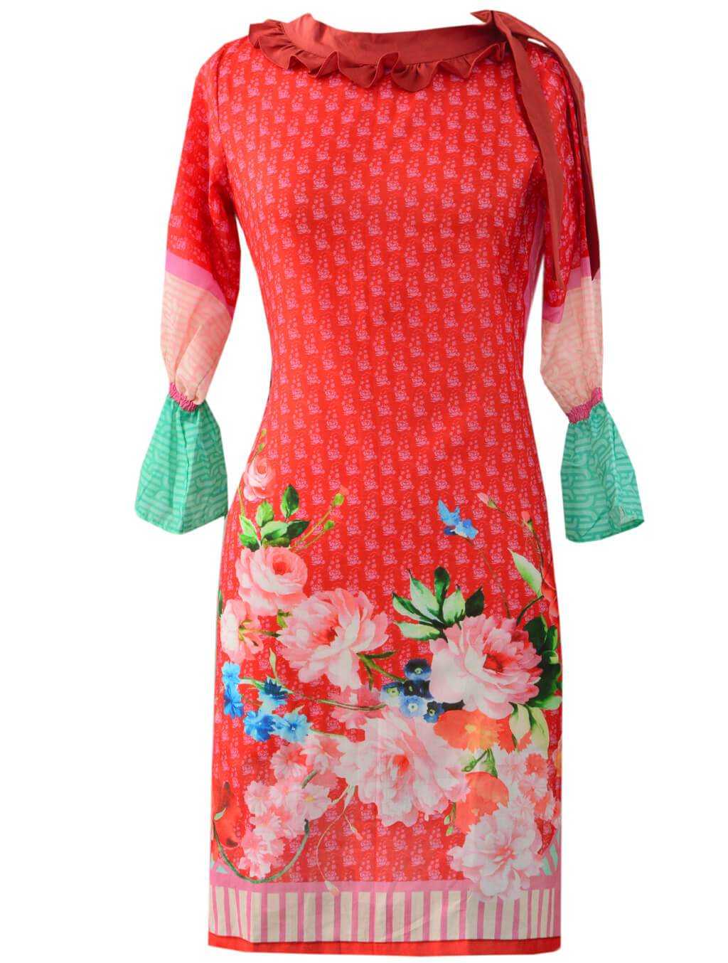 SHIRT KDLK-1003 Stitched, Fashion , , Fashion Kurti FASSTILAD