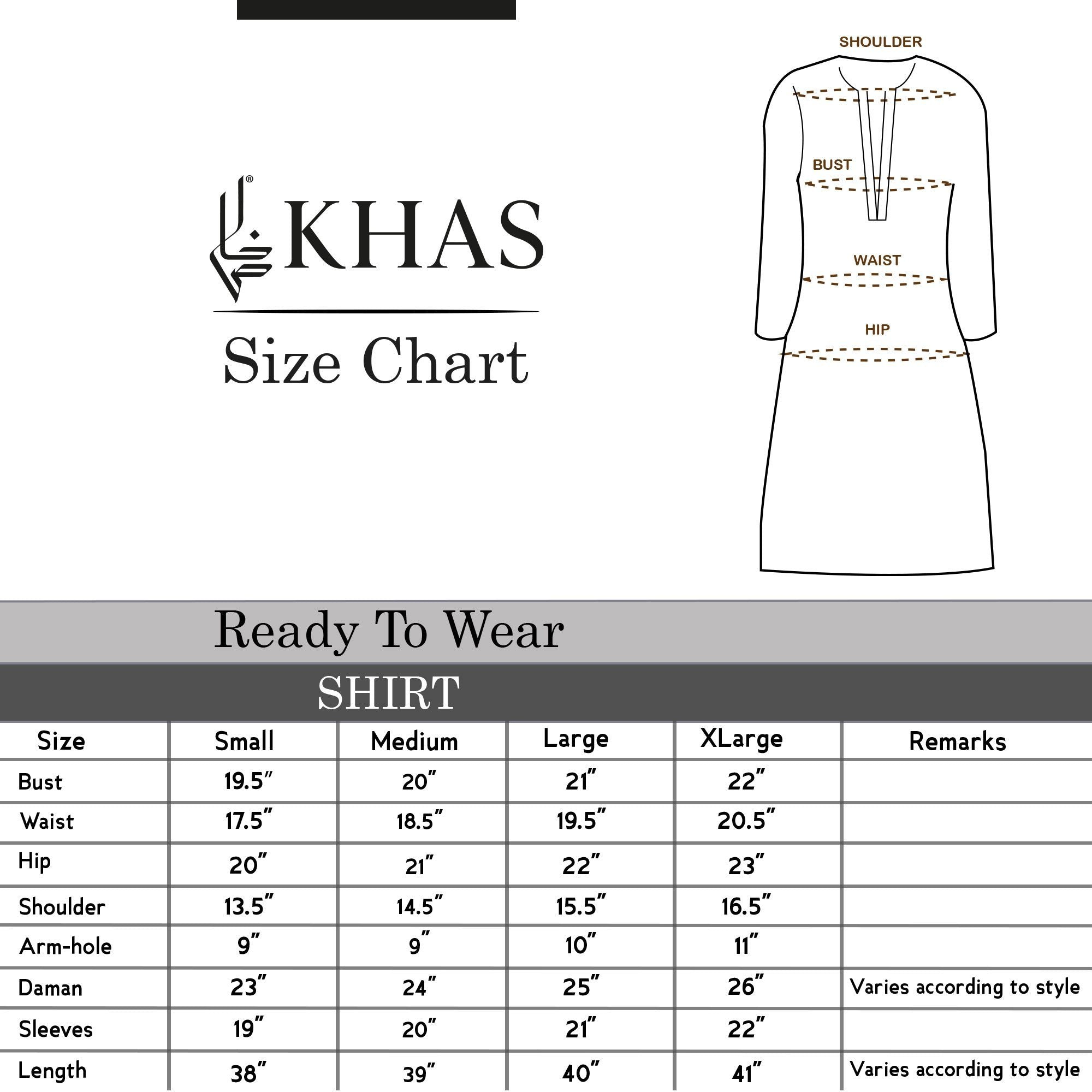 Shirt KLS-62 Luxury Pret FASSTILAD