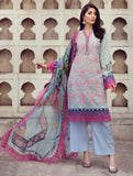 Shirt Shalwar Dupatta A-KC-01 Khas Lawn 2020 - Volume 2 FASUNSLAD