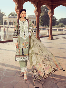 Shirt Shalwar Dupatta A-KC-05 Khas Lawn 2020 - Volume 2 FASUNSLAD