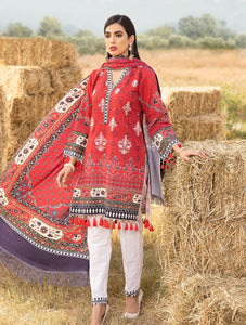Shirt Shalwar Dupatta KKS-1016 Winter Collection 2020-Vol 2 FASUNSLAD