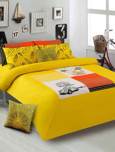 SURF CLUB/YELLOW Teens & Kids Bedding HOMBEDIMP