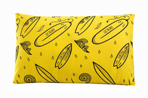 SURF CLUB/YELLOW Teens & Kids Bedding HOMBEDIMP PILLOW COVERS