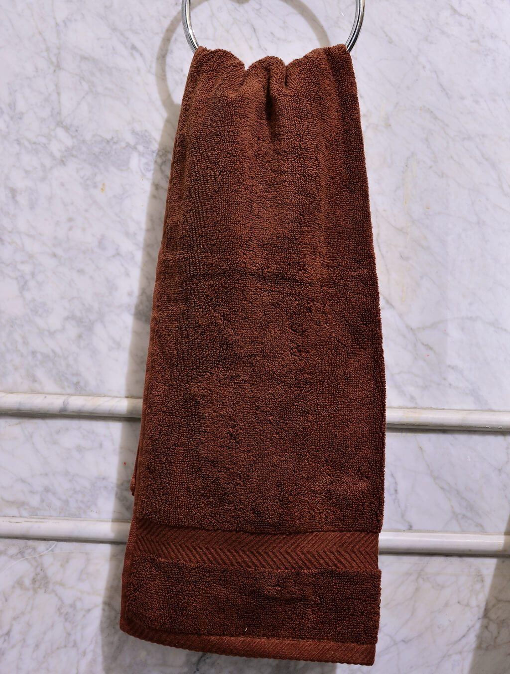 Towels Plain Brown Dyed Towels HOMBATTOW