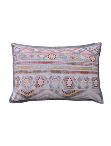 TRIBAL STREAK Home Collection 20 HOMBEDCLU PILLOW COVER 19X29+9""