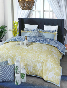 TROPIC FOLIAGE Home Collection 20 HOMBEDPIE BED SHEET QUEEN