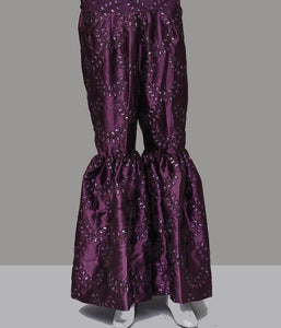 TROUSER TR-1091 PURPLE Women Bottoms FASSTILAD