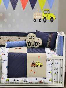 TRUCK CITY Cot Sets HOMBEDLIT Baby Cot Sets SINGLE