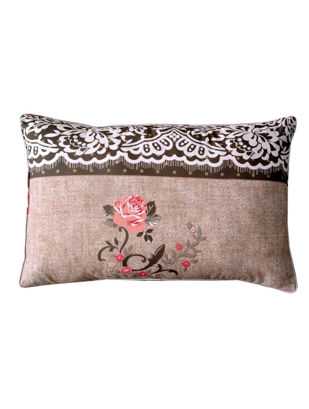 Vintage Accent Pillow Cover PRINTED RANGE 180 TC HOMBEDCLU