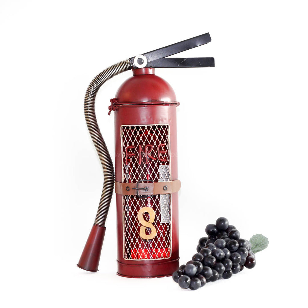 Tall Red Fire Extinguisher AH-2014A