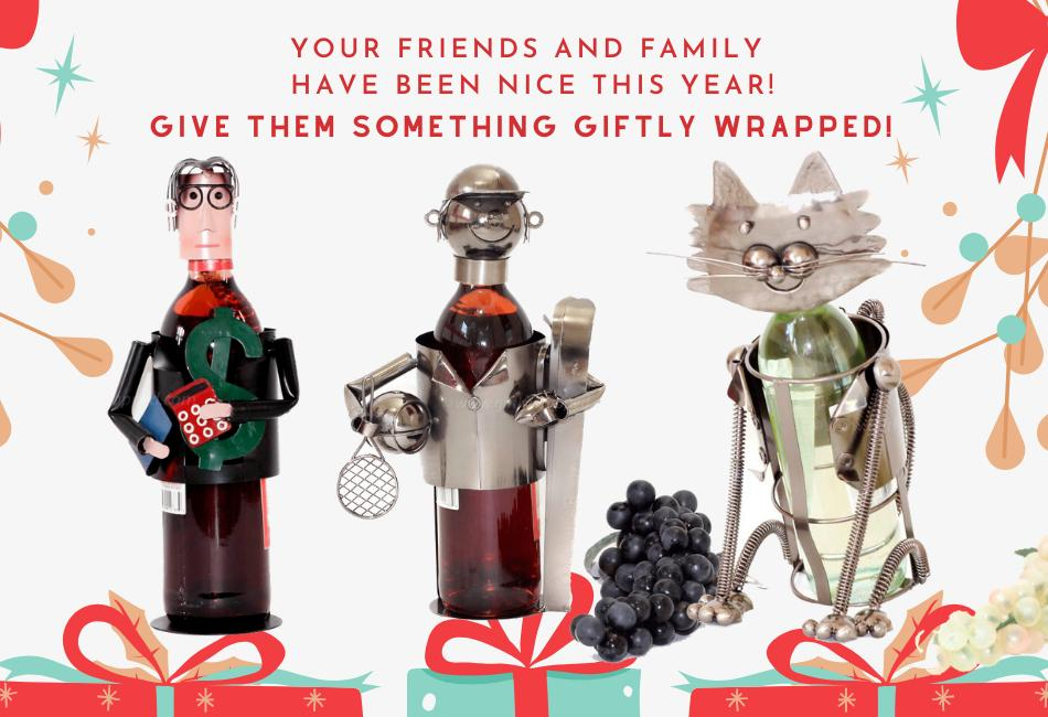Giftly Wrapped Wine Caddy